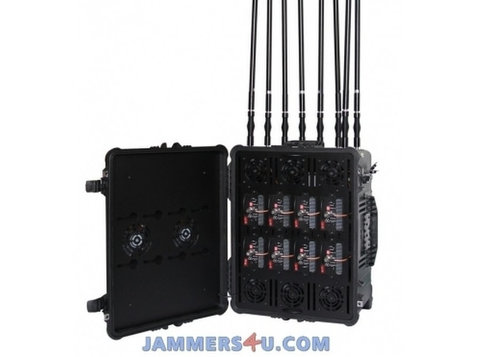 Pro Drone Uav 8 Bands 720w Jammer Up To 8km - Electronics