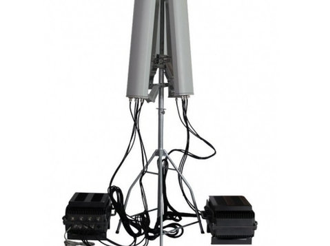 Anti-drone Uav Jammer 6 Bands 128w Up To 3km - อื่นๆ