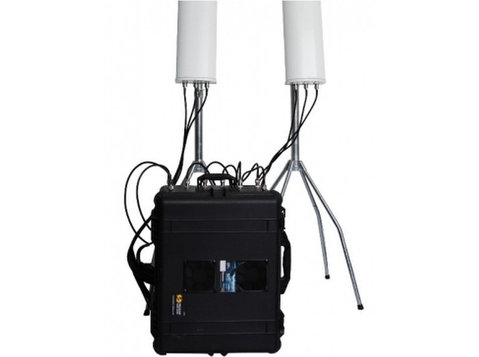 Drone 6 Bands High Power 520w Portable Jammer Up To 8km - Drugo