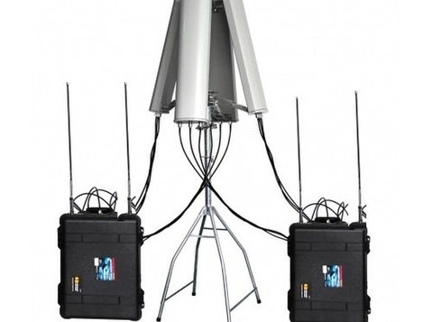 Drone Jammer 2.4ghz 5.8ghz Gps 433mhz 900mhz Up To 8km - Egyéb