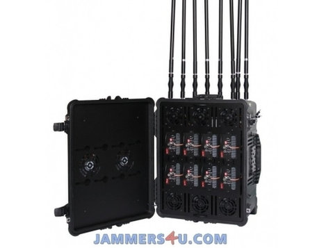 Drone Jammer 2.4ghz 5.8ghz Gps 433mhz 900mhz Up To 8km - Друго