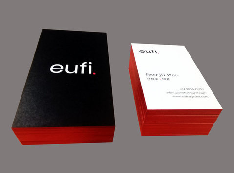 Color Edge Business Cards | PrintCards.com.hk - Altele