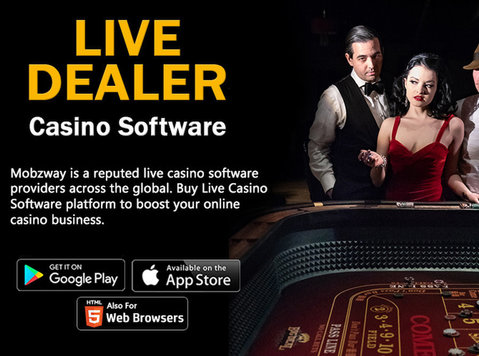 Hire Live Dealer Casino Software Provider in India - Computer/Internet
