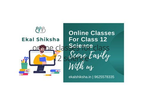 Online Classes for Class 12 Science - Iné