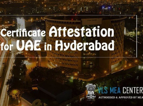 certificate attestation for Uae in Hyderabad - Právo/Financie
