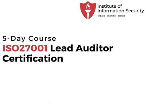 Iso 27001 Lead Auditor Certification Training - IIsecurity - Classes: Other