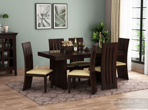 purchase Dining Table Sets Online at woodenstreet - Έπιπλα/Συσκευές