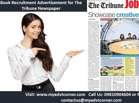 The Tribune Recruitment Classified Ads - Services: Other