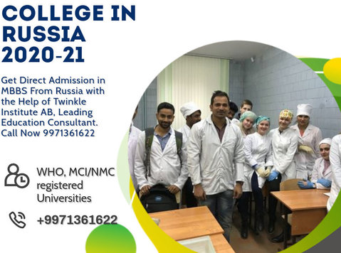 study In Russia For Mbbs 2020-21 Twinkle Instituteab - Services: Other