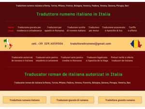 Traduzioni di rumeno in tutta Italia - Editoriale/Traduzioni
