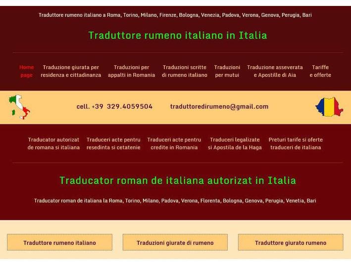 Traduzioni giurate di romeno - Tekstueel/Vertalen