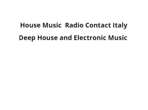 Dance party House Classic on Radio Contact Italy - Musik/Teater/Tari