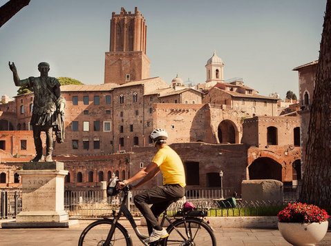 Rome bike tours - Topbike Rental & Tours - Reizen/Carpoolen
