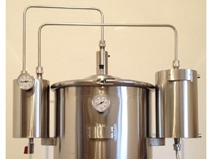 professional alembic in stainless steel - Altro