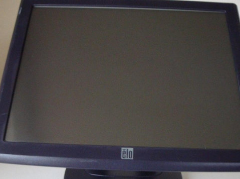 "13"" elo touch screen monitor with wall bracket for cash mach - Electronics"