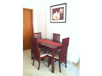 Dining table with four chairs - Furniture/Appliance