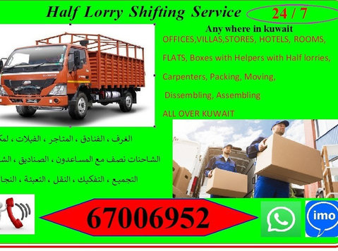 Half lorry Transport 24/7 at any time..home to home 67006952 - Flytning/transport