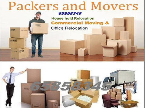 House, Office, Villa, Store,Room, Shifting Services 65858345 - Déménagement