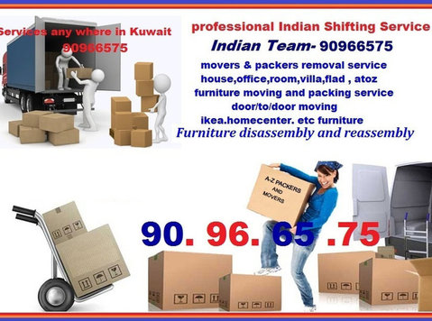 House,office,flat,room - Salmiya Shifting Services -90966575 - 	 Flytt/Transport