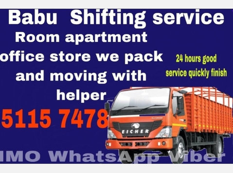 Professional packers and movers 5 1 1 5 7 4 7 8 - Traslochi/Trasporti