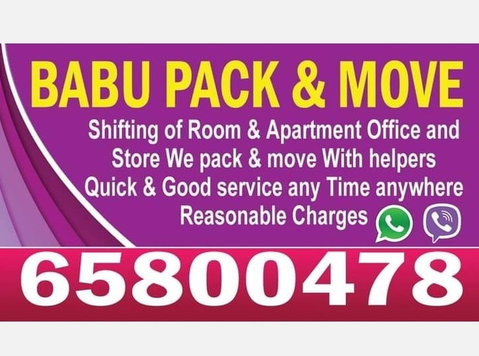Professional packers and movers 6 5 8 0 0 4 7 8 -  Flytt/Transport