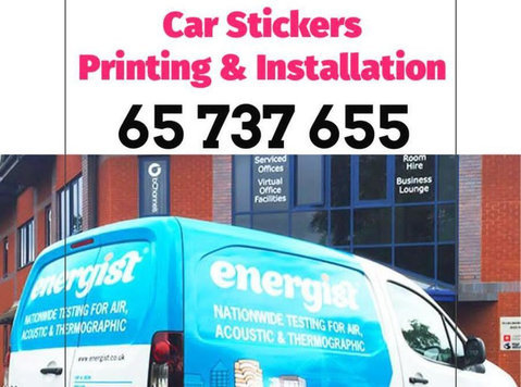 Car Stickers Printing & Installation - Services: Other