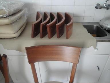 Arus entiers pièces courbes en bois massif - Overig