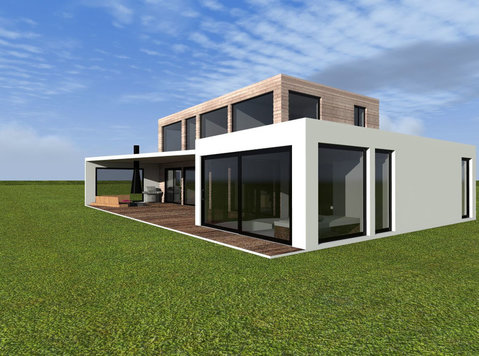 Prefabricated houses, windows - 	 Bygg/Dekoration