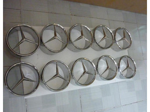 mercedes Benz 190SL Stainless Steel Star - Cars/Motorbikes