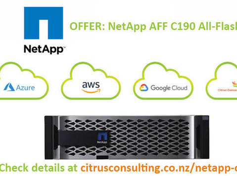 Offer: Netapp Aff C190 All-flash Array - Máy tính/Mạng