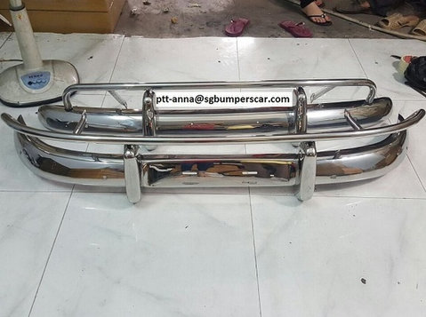 Volvo Pv544 US EU Style Stainless Steel Bumper - Cars/Motorbikes