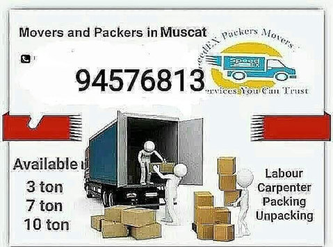House shifting packers''and movers - Transport