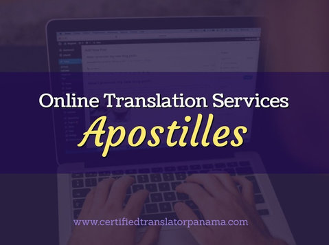 Translations / Apostille processing services in Panama - Editorial/Translation