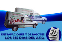 Destapaciones with sewage and storm machines 24 hours - Electricians/Plumbers