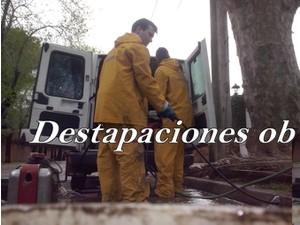 Destapaciones con maquinas cloacales y pluviales las 24 hs - Ηλεκτρολόγοι/Υδραυλικοί
