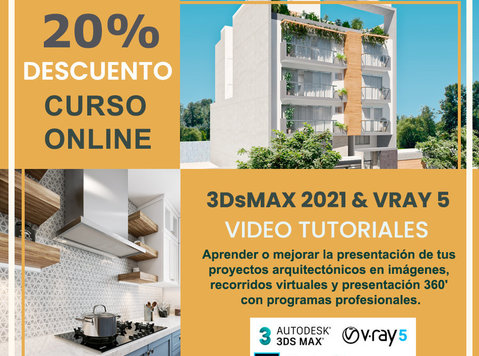 Curso Online 3dsmax 2021 y Vray 5 para infoarquitectura - אחר
