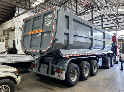 cimc zcz9400zzxhjd trailer dump 36 cubic meter 3-axle - கார்கள் /இருசக்கர  வாகனங்கள்