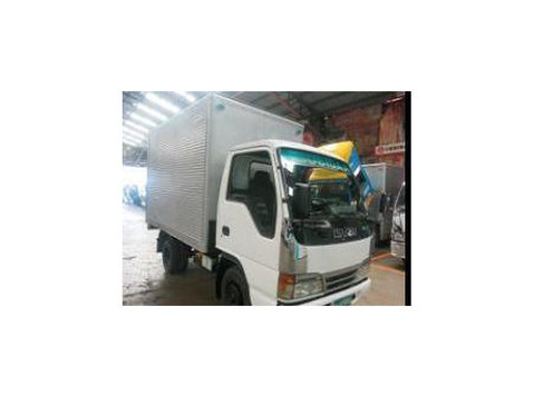 sobida isuzu aluminum closed van 4x2 truck 6wheeler 10foot - 汽车/摩托车