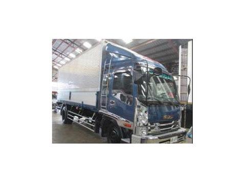 sobida isuzu aluminum wing van truck - KfZ/Motorräder