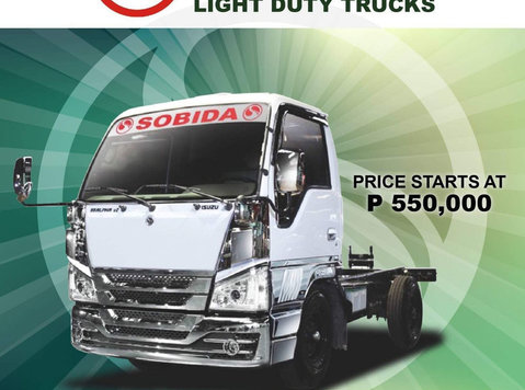 sobida isuzu cab & chassis truck - گاڑیاں/موٹر بائک