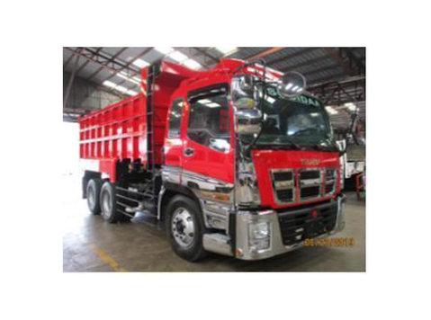 sobida isuzu 6x4 dump truck tipper 10 wheeler C-series - Araba/Motorsiklet