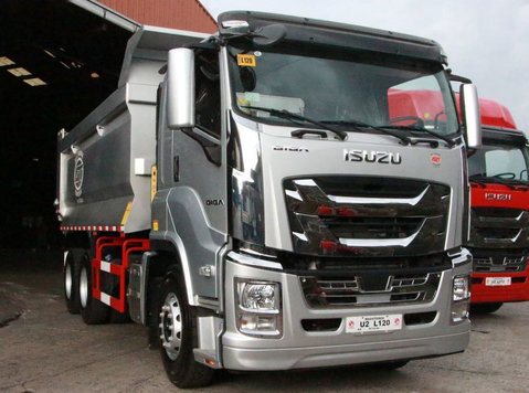 isuzu giga c-series dump truck - گاڑیاں/موٹر بائک