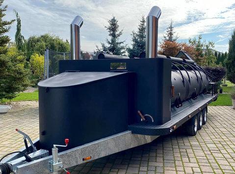smoker bbq grill Texas 1 Xxl Long - Araba/Motorsiklet