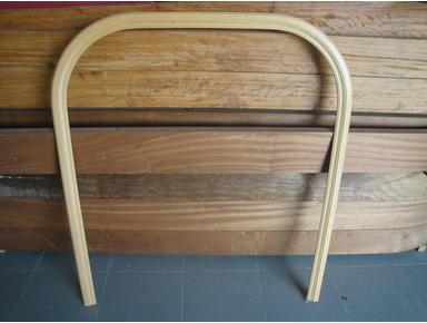 Guarnição redonda inteira em madeira maciça / www.arus.pt - Overig