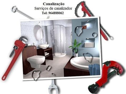 Canalização, serviços de canalizador. - Градба/Декорации