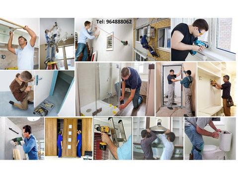 Montagem móveis, aparelhos ou qualquer equipamentos! - Градба/Декорации