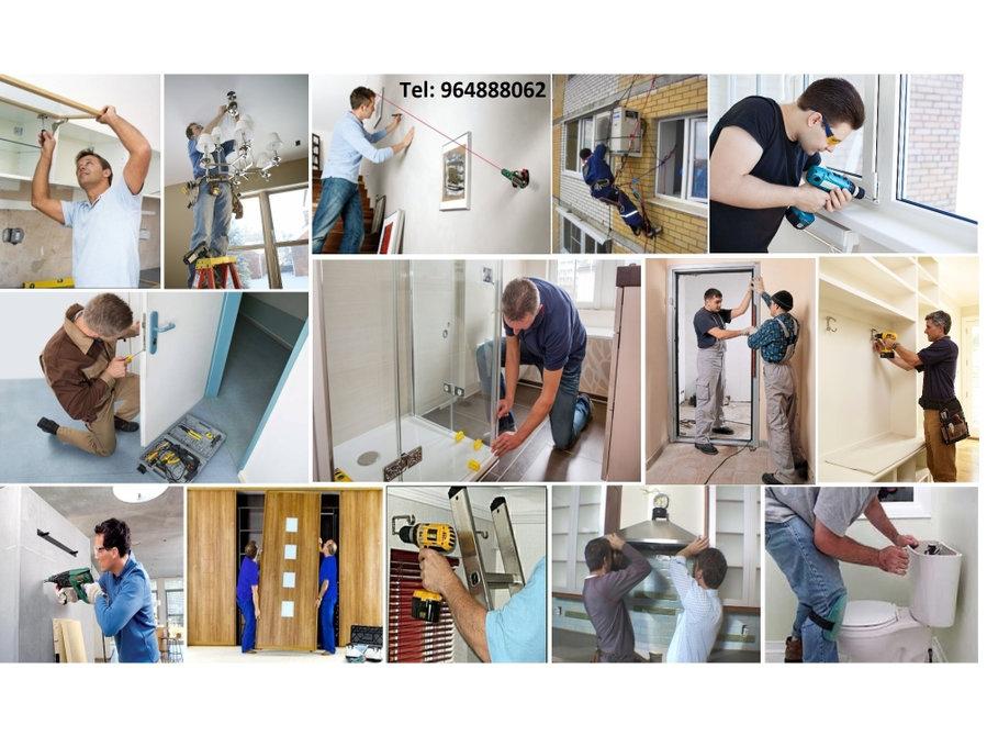 Montagem móveis, aparelhos ou qualquer equipamentos! - Construção/Decoração