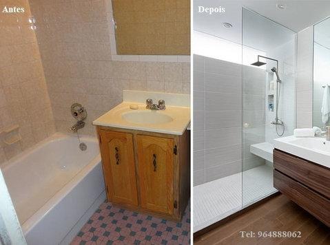 Remodelação de casa de banho / Wc - ก่อสร้าง/ตกแต่ง