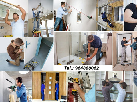Montagem móveis, aparelhos ou qualquer equipamentos! - Muutot/Kuljetukset