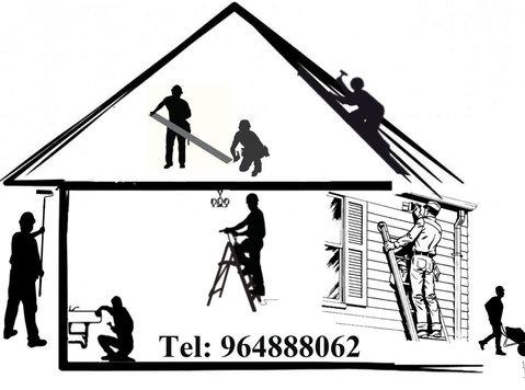 Restauro, Remodelação de interiores e exteriores, Manutenção - Изградња/декор